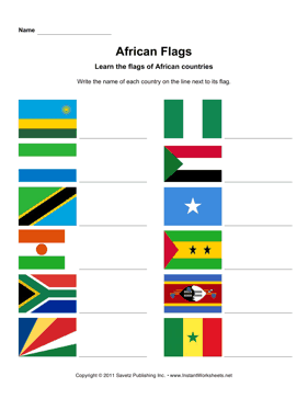 African Flags 4