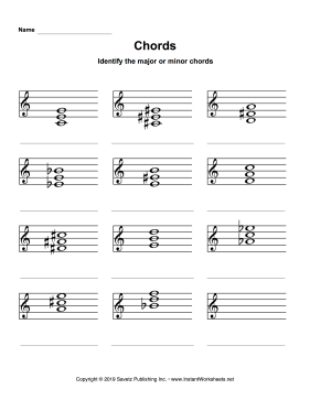 Chords Identification