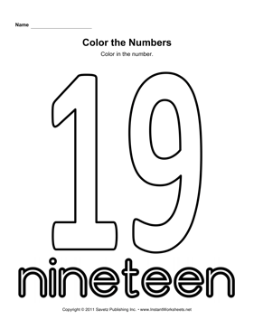 Color Number 19
