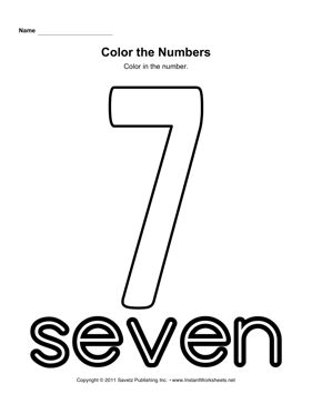 Color Number 7