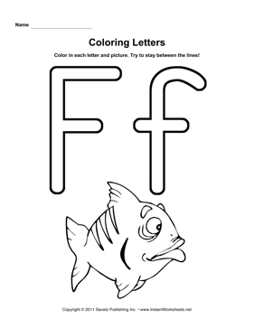 Coloring F