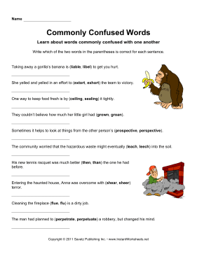 Commonly Confused Words 11
