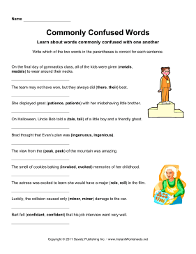 Commonly Confused Words 13
