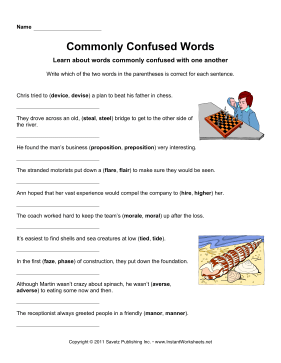 Commonly Confused Words 15