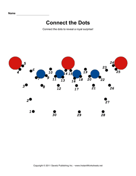 Crown Connect Dots