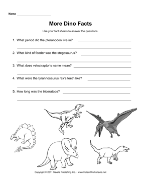 Dinosaur Facts