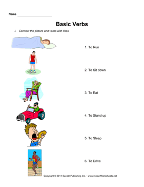 ESL Basic Verbs