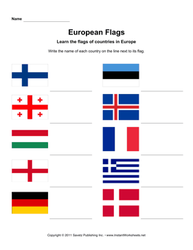 European Flags 2