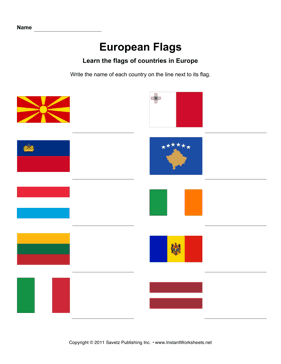 European Flags 3