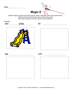 Magic E Phonics