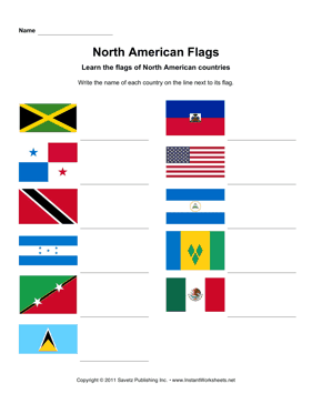 North American Flags 2