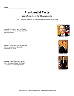 Presidential Facts 11