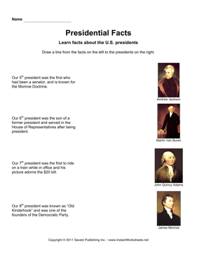 Presidential Facts 2