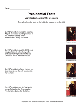 Presidential Facts 4