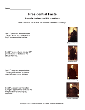 Presidential Facts 6
