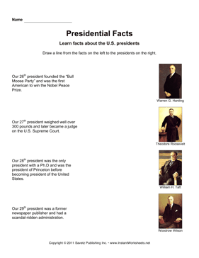 Presidential Facts 7