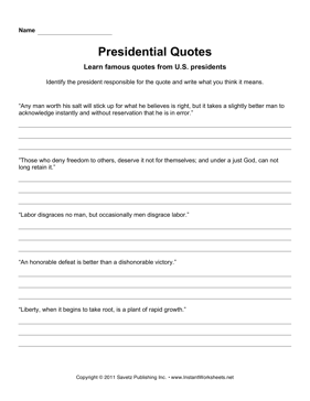 Presidential Quotes 2