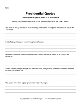 Presidential Quotes 7