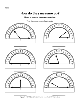 Printables Measuring Angles With A Protractor Worksheets printables measuring angles with a protractor worksheet instant worksheets