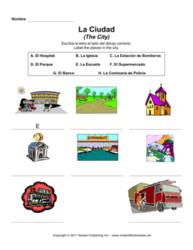 Spanish City Locations