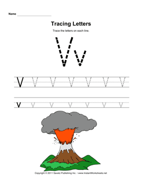 Tracing Letters V