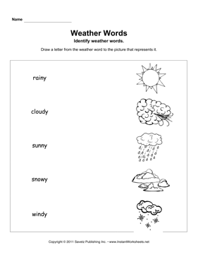 Printables Science Weather Worksheets science worksheets instant worksheets