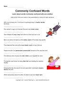 Commonly Confused Words 14