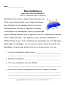 Constellations Comprehension