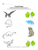 Dinosaur Food Finder