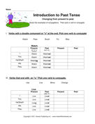 ESL Intro Past Tense