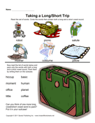 Long Short Vowels Phonics 1