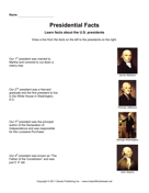 Presidential Facts 1