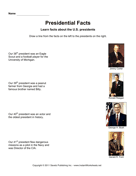 Presidential Facts 10