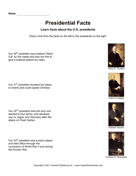 Presidential Facts 8
